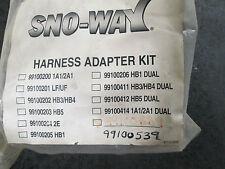 99100539 Sno-Way Light Harness adapter kit