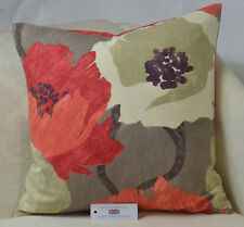 """CUSHION COVER 20""""x20""""  51cm sq.  Prestigious Floribunda Ruby Bold Floral"""