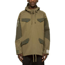 ADIDAS X WHITE MOUNTAINEERING Wm Pullover Jacket in Green NWT BQ4126 Sz Small S