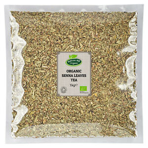 Organic Senna Leaves Tea 1kg Certified Organic