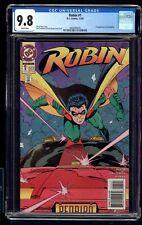 ROBIN 1 CGC 9.8 11/93 1ST APPEARANCE OF THE REDBIRD CHUCK DIXON STORY