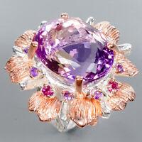 Ametrine Ring Silver 925 Sterling Fine Art Jewelry Size 6.5 /R134265