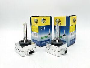 2x New OEM Hella D1S Xenon Bulb 5000K HID Head Light Lamp Headlamp Set