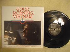 Good Morning, Vietnam, Robin Williams, A&M Records, SP-3913, 1988, Soundtrack