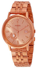 Fossil ES3789 Vintage Muse Rose Gold Dial Rose Gold Stainless Women's Watch