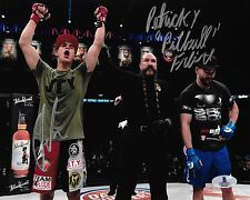 Derek Anderson & Patricky Pitbull Freire Signed Bellator MMA 8x10 Photo BAS COA