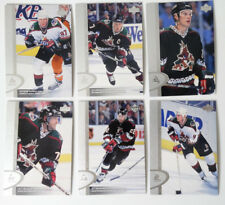 1996-97 Upper Deck UD Series 2 Phoenix Coyotes Team Set of 6 Hockey Cards