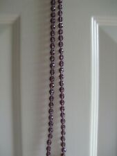 REDUCED 20%,,,,,,,,,,,Vintage Hand Tied Glass Bead Necklace