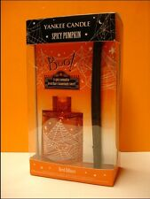 Yankee Candle Halloween Spicy Pumpkin Fragranced Reed Diffuser New Nib Candle