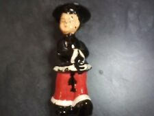 "Vtg Ceramic Figurine made in Japan ""NOT a bobblehead  6"""" high-- fine condition"