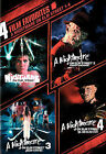 4 Film Favorites - A Nightmare on Elm Street 1-4 (DVD, 2008)