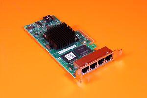 DELL INTEL I350-T4 1GB RJ-45 QUAD PORT LOW PROFILE NETWORK CARD - K9CR1