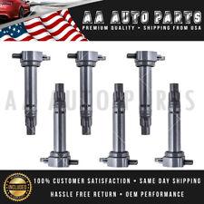New 6 pack Ignition Coils For C1522 UF502 06-10 Chrysler Dodge 4.0L 2.7L 3.5L