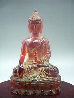 12 cm * / Chinese manual sculpture rare amber, Buddha had the figure of Buddha