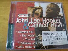 JOHN LEE HOOKER & CANNED HEAT BEST OF  CD SIGILLATO BLUES