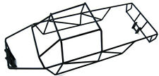 T-Maxx 4908 or 4907 Stainless Steel Black Powder Coated Full Roll Cage NEW