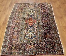 Persian Traditional Vintage Wool 122cmX225cm Oriental Rug Handmade Carpet Rugs
