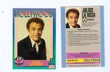 20 of the same Julius La Rosa Hollywood Walk Of Fame card number 137