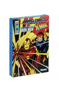Iron Man & Cyclops Marvel Legends RETRO 3.75 Collection Hasbro Pulse Exclusive