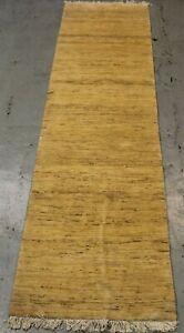 fine Handmade Parsian Gabbeh Wool Runner 297cm x 80cm