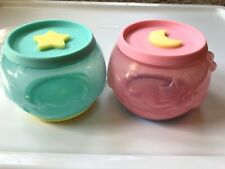 Hong Kong 7-11 Sanrio Lock & Go Face Round Container Little Twin Stars Kiki Lala