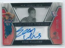 2007-08 SP Rookie Threads Sean Williams DUAL JERSEY RELIC AUTO RC 150/799