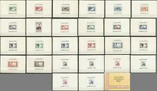 V0578 1951 LAOS FIRST ISSUE STAMPS !!! RARE MICHEL 400 EURO BL1-26 MNH BOOKLET