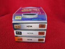 4 HOYA 52mm Filters: Yellow (K2)/Star Eight/81B/85A BRANDNEW
