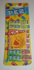 VINTAGE PEZ BONBONS LISA SIMPSON THE SIMPSONS CARDED MIP EUROPE RELEASE RARE