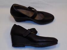 8 M  Natural Soul by Naturalizer Maritza Ladies Womens Faux Leather Black heels