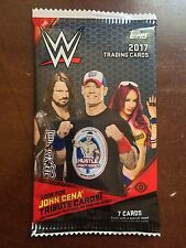2017 Topps WWE Factory Sealed Hobby Pack - 7 Cards
