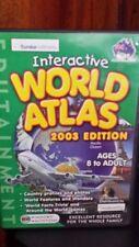 Interactive World Atlas 2003 Edition PC GAME - FREE POST