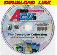 AMSTRAD COMPUTER USER MAGAZINE Collection PDF DOWNLOAD PCW CPC464/664/6128 Games