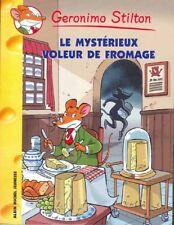 GERONIMO STILTON 29 Il misterioso ladro di formaggio libro jeunesse