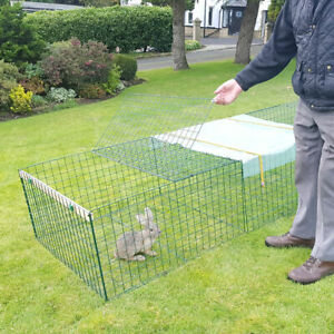 Heavy Duty Rabbit,Guinea Pig,Chicken,Puppy Run,Cage,Playpen-1m Wide - Any Length