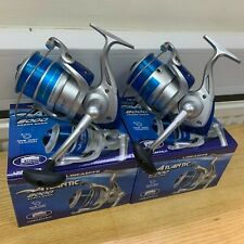 2 X NEW LARGE LINEAEFFE SEA FISHING ATLANTIC 8000 BEACH PIER REEL WITH BLUE LINE