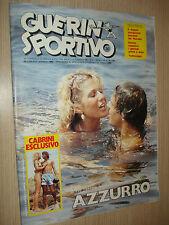 GUERIN SPORTIVO 1982 ANNO LXX N°30 (398) PINK FLOYD TUTTOCOPPE