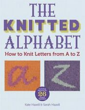 The Knitted Alphabet: How to Knit Letters from A to Z-ExLibrary