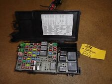 2007 CADILLAC DTS FUSE BOX BLOCK RELAY CENTER WITH HARNESS PLUG    B-38