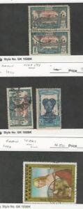 Gabon, Postage Stamp, #94 Pair, 108, C261 Used, 1924-83, JFZ