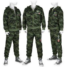 Jogginganzug Trainingsanzug Camouflage Sportanzug Kinder Set: Jacke + Hose #AH99
