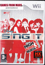 DISNEY SING IT High School Musical 3 ✰ Nintendo Wii ✰ NUOVO ITALIANO