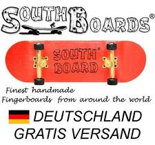 komplett Fingerskateboard Rt/go/swz SOUTHBOARDS Handmade Wood Fingerboard Echtholz