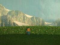 Siepe verde con fiori gialli per plastico o diorama cm. 50 X 2 - Krea Modellismo