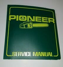 NOS Pioneer Chainsaw DEALER Shop Service Parts Repair MANUAL Vintage GENUINE