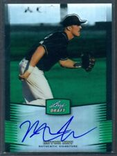 2012 LEAF METAL DRAFT GREEN PRISMATIC REFRACTOR AUTO MITCH NAY #'D 08/10