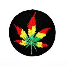 Bob Marley Weed Reggae Ska Hippie Retro Rock Music Jacket T-Shirt Iron on patch