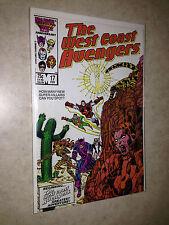 the West Coast Avengers 17 Iron-Man Hawkeye Tigra Wonder-Man Cactus