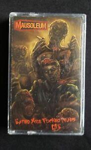 MAUSOLEUM -Eating Your Fucking Brains LIVE [Cassette]