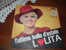 """LOLITA """" L'ULTIMO BALLO D'ESTATE """" UN DISCO PER L'ESTATE'69  ITALY"""